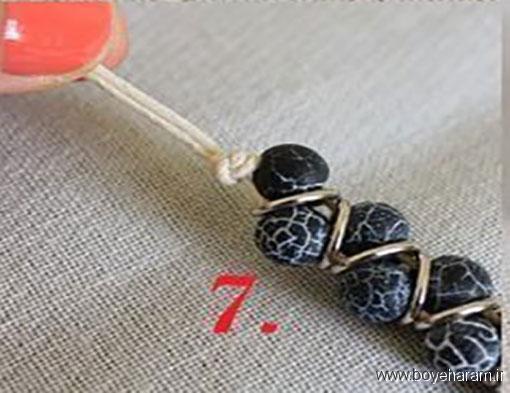 آموزش ساخت کاردستی تزئینی,ساخت دستبند,آموزش درست کردن دستبند,روش ساخت دستبند,ساخت دستبند کلاسیک