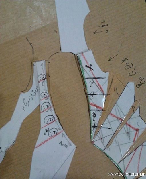 آموزش دوخت لباس یقه باز,آموزش خیاطی با پارچه های مختلف,آموزش کشیدن الگو یقه,آموزش کشیدن الگو یقه چپ راست,آموزش کشیدن الگو یقه آمریکایی,آموزش درست کردن لبس یقه آمریکایی