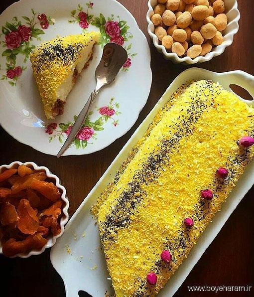 درست کردن دسرلیالی لبنانی,آموزش درست کردن دسر لبنانی,طرز تهیه دسر لیالی لبنانی,