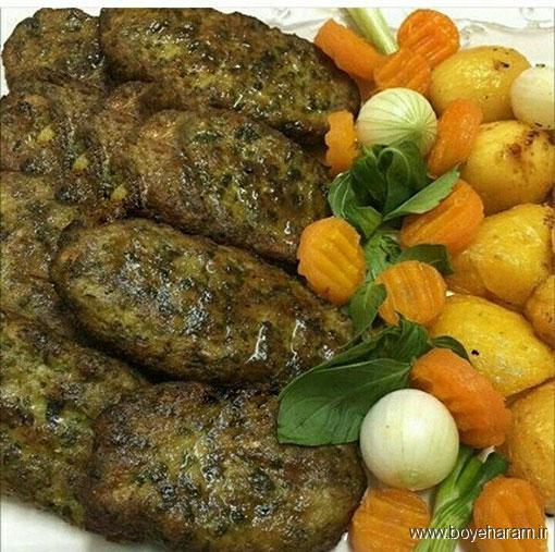 آشپزی,دستور پخت غذاهای لبنانی؛دستور پخت کتلت لبنانی,طرز تهیه کتلت لبنانی