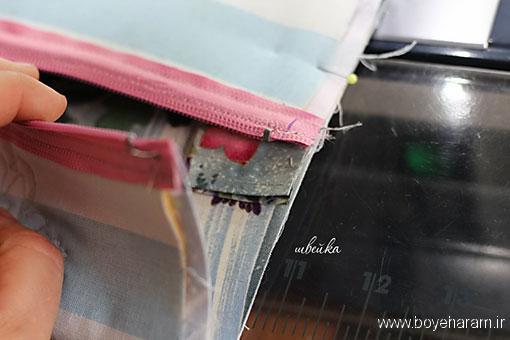 آموزش دوخت کیف زنانه,آموزش دوخت کیف دستی زنانه,آموزش تصویری دوخت کیف