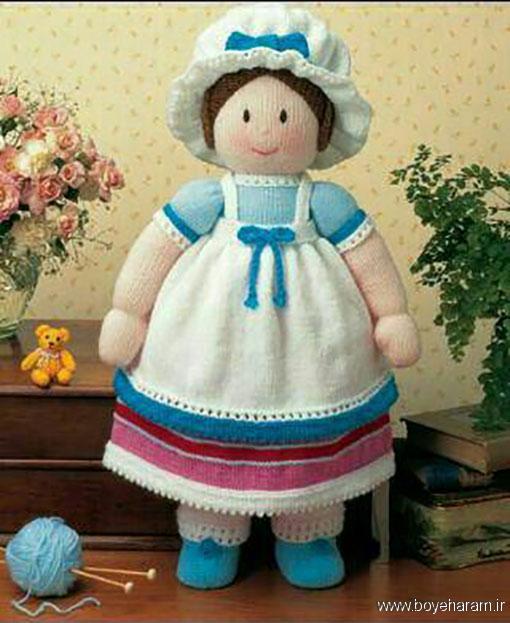 آموزش بافت عروسک,بافت عروسک,آموزش بافت عروسک دختر,آموزش عروسک بافتنی