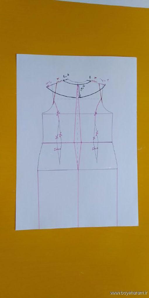 زنانه,آموزش تصویری دوخت لباس مجلسی,آموزش دوخت لباس مجلسی زنانه
