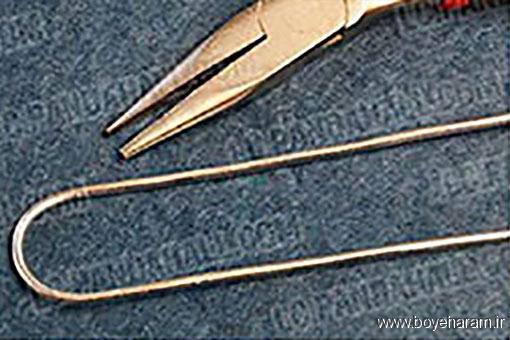 آموزش درست کردن دستبند,روش ساخت دستبند,ساخت دستبند کلاسیک,آموزش ساخت دستبند فنری