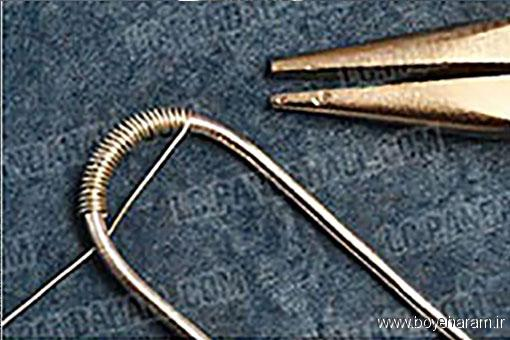 آموزش ساخت کاردستی تزئینی,ساخت دستبند,آموزش درست کردن دستبند