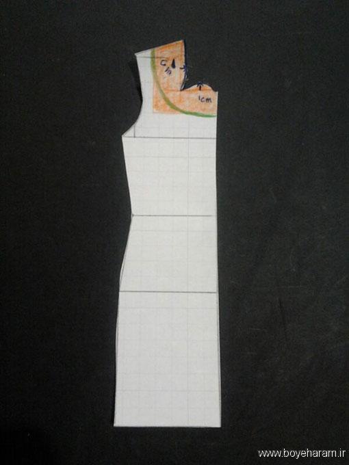 آموزش دوخت مانتو سارافون مجلسی زنانه, دوخت لباس  زنانه,آموزش مانتو مجلسی دخترانه