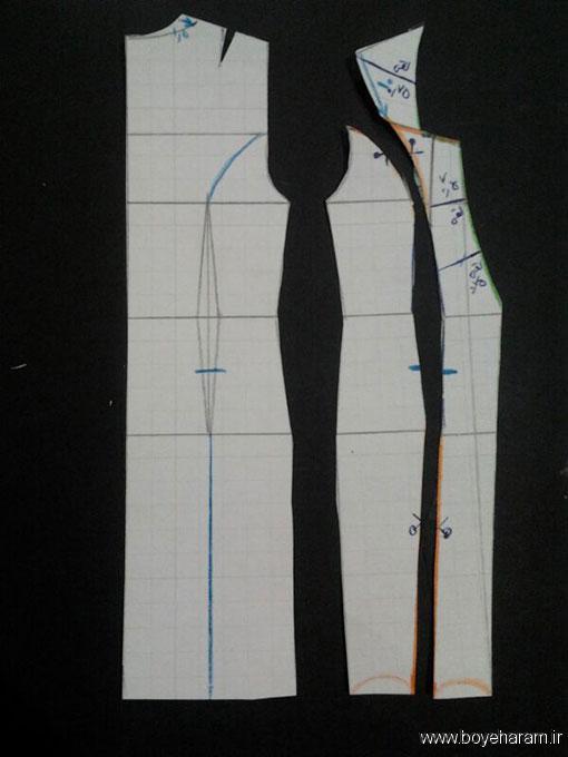 مدل جدید مانتو مجلسی زنانه,آموزش دوخت مانتو سارافون مجلسی زنانه,دوخت لباس  زنانه