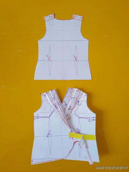 آموزش تصویری دوخت لباس زنانه,آموزش دوخت لباس مجلسی زنانه,دوخت لباس زنانه