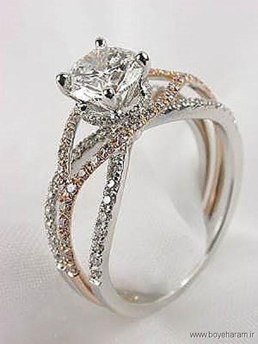 جدید طلا,مدل انگشتر,مدل جدید انگشتر زنانه,مدل حلقه ازدواج