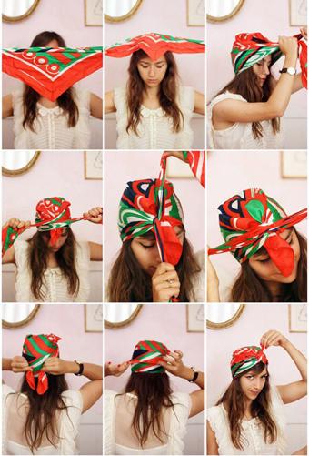 بستن شال و روسری,آموزش بستن شال و روسری,Close scarves and shawls