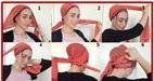 آموزش انواع مدل های بستن شال و روسری
