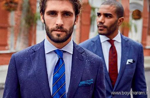 کاربردی ترین رنگ لباس, پوشیدن کت و شلوار سرمه ای
