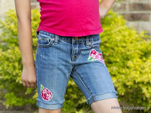 خیاطی,سایت خیاطی,سایت آموزش خیاطی,آموزش خیاطی,آموزش دوخت شلوارک دخترانه,آموزش تزیین شلوارک دخترانه