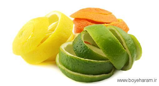 خواص سبزیجات,خاصیت قسمت های مختلف میوه,فواید پوست مرکبات
