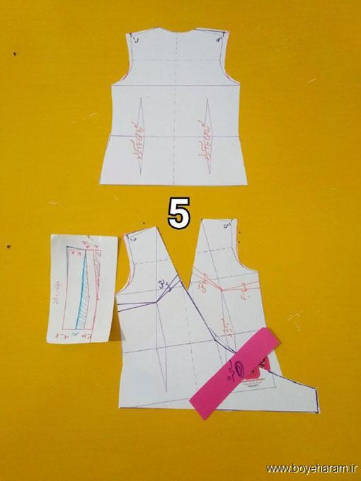 آموزش دوخت لباس یقه چپ و راست زنانه,بلوز مجلسی دخترانه,آموزش مدل های شیک بلوز دخترانه,مدل لباس زنانه