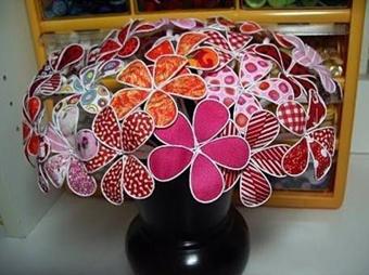 ساخت گل با سیم,ساخت گل با سیم و پارچه,آموزش گل سیمی,ساخت گل سیمی