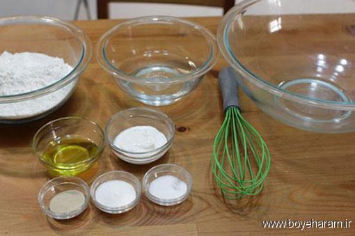 آموزش درست کردن نان هندی,درست کردن نان هندی,دستور درست کردن نان هندی