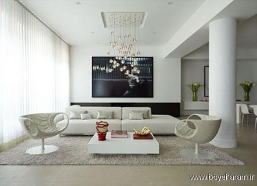 نور و روشنایی اتاق نشیمن,ایده هایی برای دکوراسیون اتاق نشیمن,فضای اتاق نشیمن
