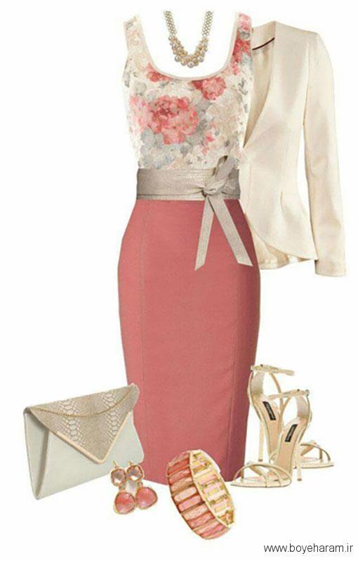 ایجاد ترکیب بین طرح و رنگ لباس ها,طرح های ملایم و غیر برجسته در لباس ها,هماهنگ کردن لباس های طرح دار