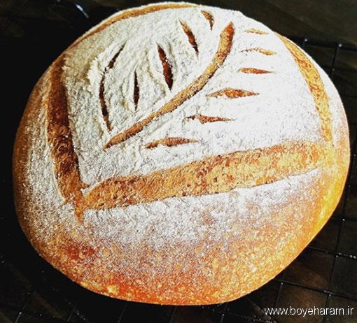 طرز تهیه نان کدوتنبل,آموزش طرزتهیه نان کدوتنبل,درست کردن نان کدوتنبل