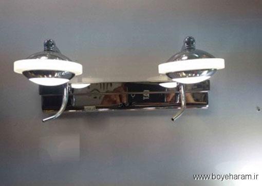 چراغ بالای آیینه مدرن, چراغ چندقلوی بالای آیینه,مدل های جدید چراغ بالای آیینه,شیکترین مدل های چراغ بالای آیینه