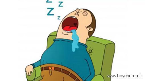 علت ریزش آب دهان هنگام خواب و راه های درمان آن,علت ریزش آب دهان هنگام خواب چیست؟,علل دیگر ریزش آب دهان در خواب