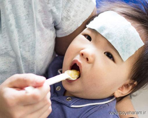 سوپ و اثرات آن در کاهش تب نوزاد,پوره میوه و سبزیجات برای درمان تب نوزاد,نکته های مفید برای درمان تب نوزاد,