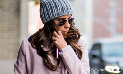 پرهیز از استفاده زیاد از مواد حاوی الکل,پوشاندن سر به مدت زیاد برای مو مضرر است,نکاتی دربار مراقبت از موها در زمستان