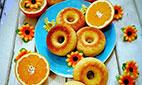 دستورپخت دونات پرتقالی