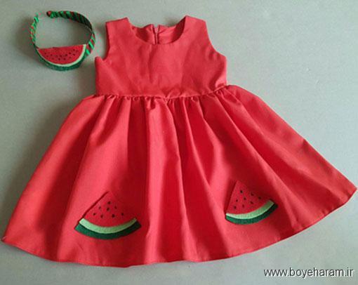 تیشرت دخترانه با تم شب یلدا,مدل لباس زمستانی با طرح اناز,لباس بچگانه با تم هندوانه