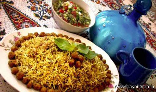 آموزش درست کردن کلم پلو شیرازی,درست کردن کلم پلو شیرازی,دستور درست کردن کلم پلو شیرازی
