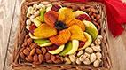 تزیینات هنرمندانه میوه های خشک