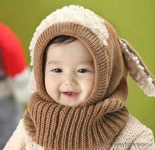 شال کلاه زمستانی پسرانه,کلاه بافتنی روگوشی پسرانه,کلاه شالگردن بچه گانه پسرانه