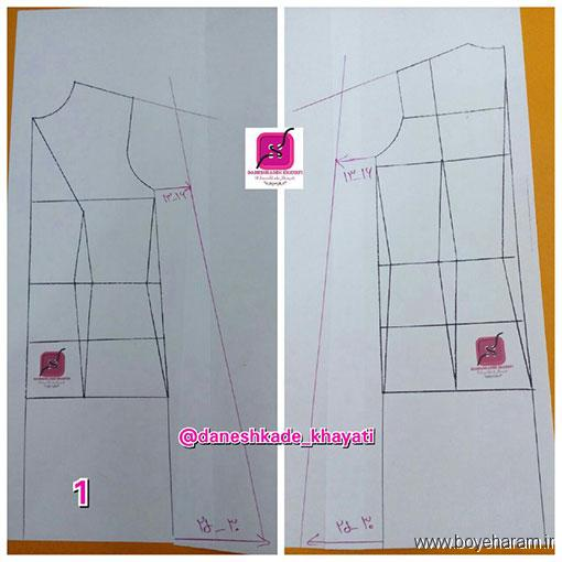 آموزش مدل جدید شنل مجلسی,مدل شیک شنل زنانه,دوخت لباس مجلسی