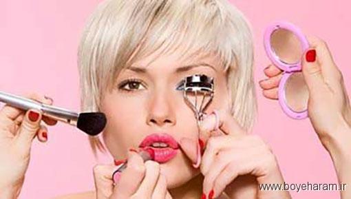 نکات ایمنی درباره لوازم آرایش,رعایت نکات درباره استفاده از لوازم آرایش