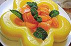 طرز تهیه دسر نارنگی با شیر