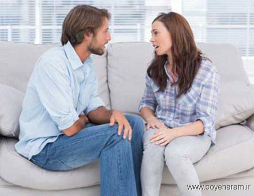 در اتاق خوابتان و یا در زمان خوابتان درمورد مشکلات جنسیتان حرف نزنید,در چه شرایطی از مشگلات جنسی حرف بزنیم