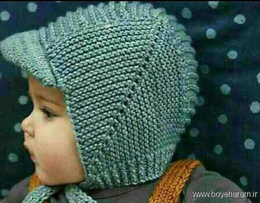 مدل کلاه پسرانه نقابدار,آموزش بافت مدل جدید کلاه پسرانه نقابدار