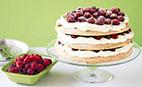 آموزش طرزتهیه کیک داکواز با آرد بادام