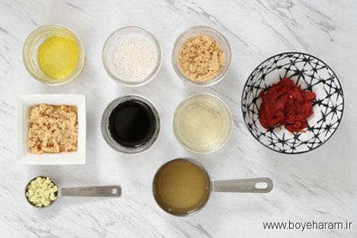 درست کردن تسو غذای چینی با گل کلم,دستور درست کردن تسو غذای چینی با گل کلم