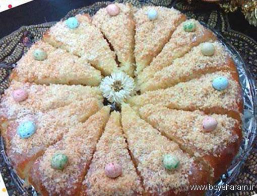 طرز تهیه کیک شنی,آموزش طرزتهیه کیک شنی,درست کردن کیک شنی