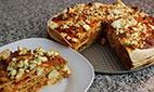 طرزتهیه پیتزا با نان ترتیلا