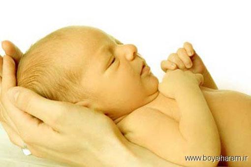 درمان های خانگی زردی نوزاد,عوارض زردی نوزاد,یک نشانه ساده برای تشخیص زردی نوزادان