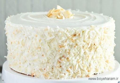 طرز تهیه کیک نارگیلی,آموزش طرزتهیه کیک نارگیلی,درست کردن کیک نارگیلی