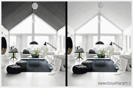 برای بزرگ نشان دادن فضا از چه رنگی باید استفاده کرد؟,آیا رنگ های روشن باعث می شود فضای خانه بزرگتر دیده شود؟