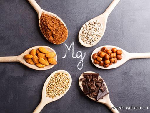 کمبود منیزیم باعث تمایل شدید به مصرف شکلات و مواد قندی می شود,کمبود منیزیم میتواند سبب نوسانهای خلقی,درد و اسپاسم شدید عضلانی از علائم کمبود منیزیم