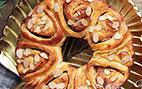 آموزش درست کردن نان شیرمال بادامی با مواد میانی