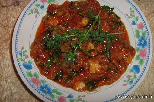 آموزش درست کردن خورشت گوجه فرنگی,درست کردن خورشت گوجه فرنگی,دستور درست کردن خورشت گوجه فرنگی