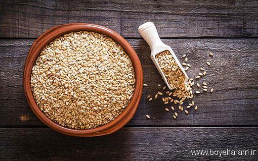 آیا بذر کتان باعث نازایی می شود؟