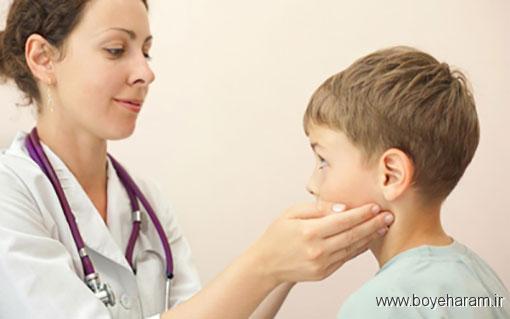 علل، علائم و درمان تورم غدد لنفاوی,علت تورم غدد لنفاوی چیست,درمان ورم غدد لنفاوی,درمان های خانگی تورم غدد لنفاوی